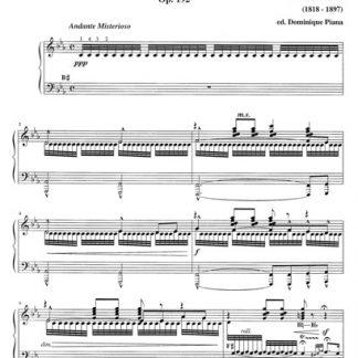 GODEFROID Félix : La fidanzata del Marinajo - scène pour harpe opus 192