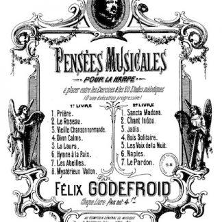 GODEFROID Félix : Pensées musicales n°2