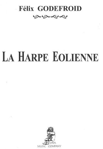 GODEFROID Félix : La harpe éolienne