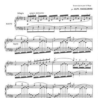 SAINT-SAENS Camille: Fantaisie Op 95 DF4661 - Camac Harps