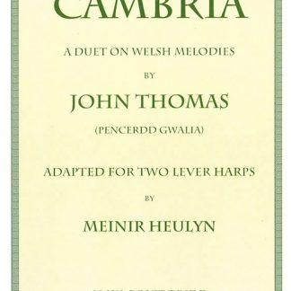 John Thomas: Cambria, arranged for two lever harps