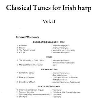 Ank van Campen : Classical Tunes for Irish Harp