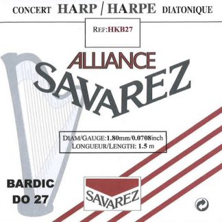 Cordes Alliance pour Bardic (Sol 23 à Do 27)