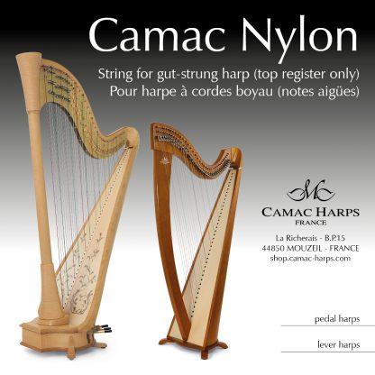 Nylon pour harpe à cordes boyau