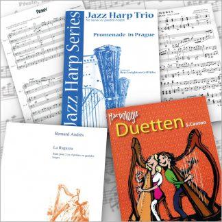 Ensembles de harpes