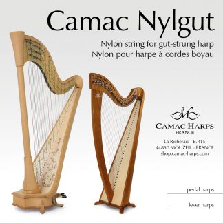 Nylgut (Nylon for Gut-Strung Lever Harp)