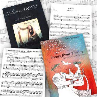 Lever Harp Sheet Music