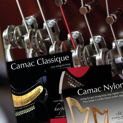 Jeux de cordes harpes celtiques à cordes boyau