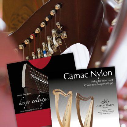 jeux harpes celtiques nylon