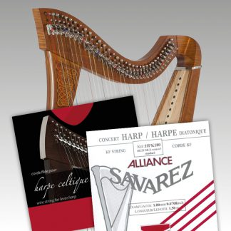 Lever Harp Single Strings