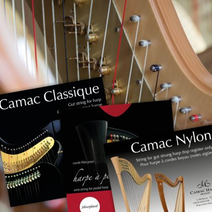 Jeux complets pour harpe à pédales