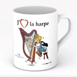 MUG J'aime la Harpe