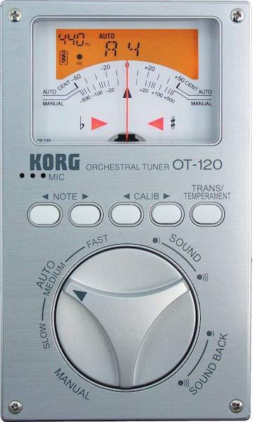 """Accordeur électronique professionnel """"Orchestral"""" KORG OT-120"""