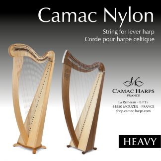 Heavy Gauge Nylon Lever Harp Strings