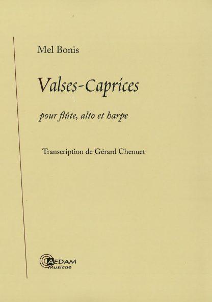 Mel Bonis : Valses-Caprices op. 87, transcription de Gérard Chenuet pour flûte, alto et harpe