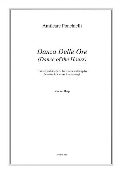 PONCHELLI Amilcare : Danza Delle Ore - transcription de Nandor Szederkenyi pour violon et harpe
