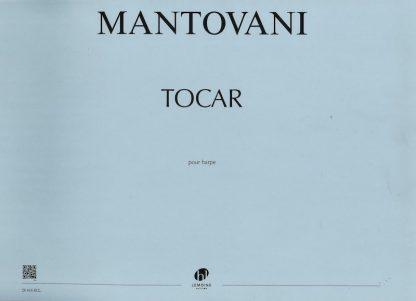 MANTOVANI Bruno: Tocar for solo harp