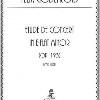 GODEFROID Félix : Etude de concert op. 193