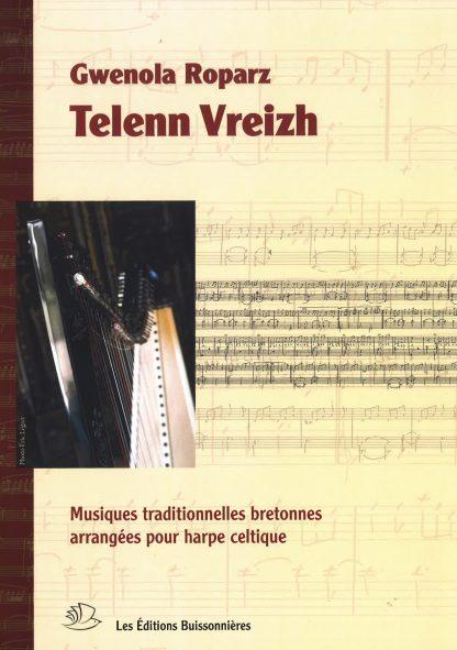 ROPARZ Gwenola: Telenn Breizh - Breton traditional musique for lever harp