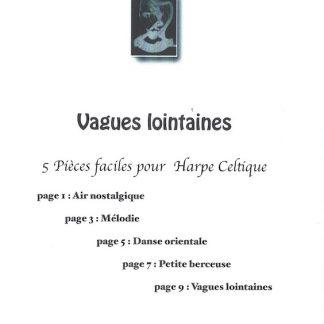 TOCHKOVA - PATROUILLEAU Youliana : Vagues lointaines (5 leichte Stücke für Hakenharfe)