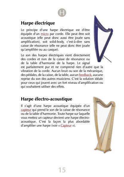 """""""Blue Dictionary"""", oder: Die verstärkte Harfe von A – Z"""