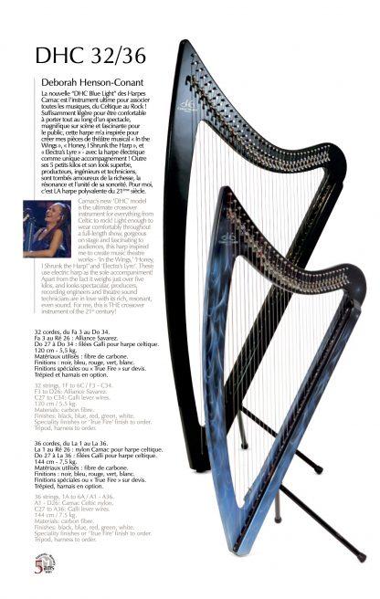 Catalogue : harpes celtiques