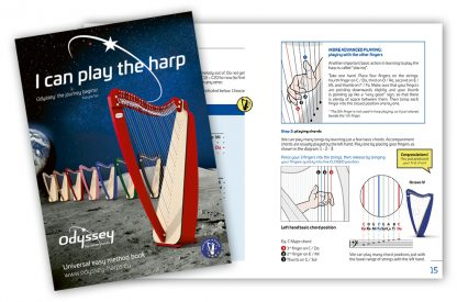 I Can Play The Harp, by Katryna Tan