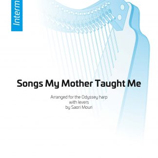 DVORAK A.: Songs My Mother Taught Me, arrangement by Saori Mouri