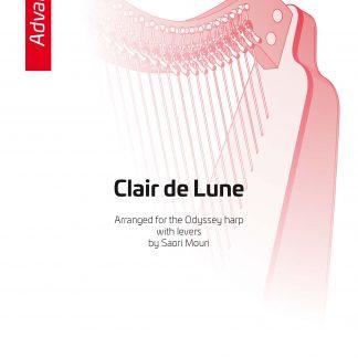 DEBUSSY C.: Clair de lune, Bearbeitung von Saori Mouri