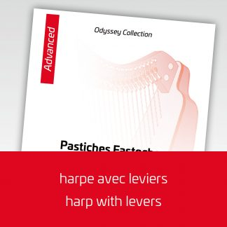 Odyssey Collection for harp with levers, advanced level