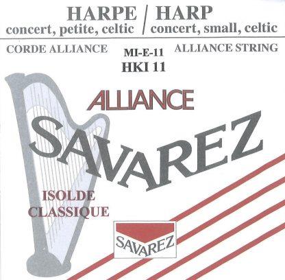 Cordes pour Isolde Classique (cordes alternatives Alliance Savarez)