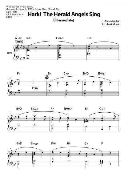 Trad. Noël : Hark! The Herald Angels Sing, arrangement de Saori MOURI