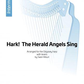 Hark! The Herald Angels Sing, Bearbeitung von Saori Mouri. Zum Herunterladen