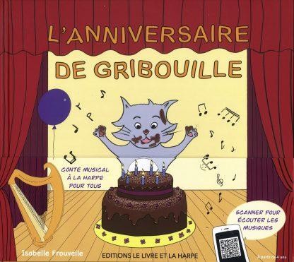 Isabelle FROUVELLE: L' anniversaire de Gribouille - Ref. ELH18