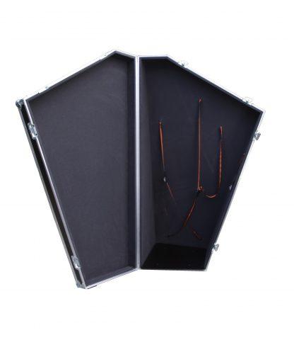 Caisse de transport pour harpe à pédales