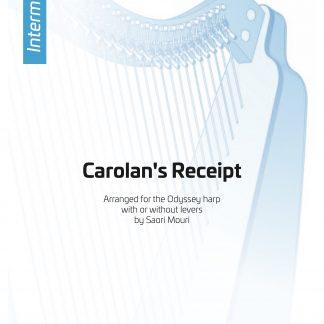 O'CAROLAN T.: Carolan's Receipt, Bearbeitung von Saori MOURI